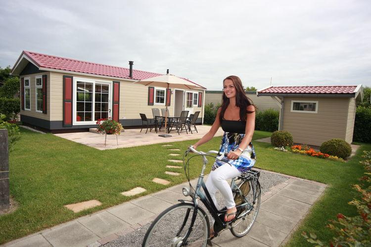 Chalets Nederland | Noord-Holland | Chalet te huur in Hippolytushoef   met wifi 5 personen