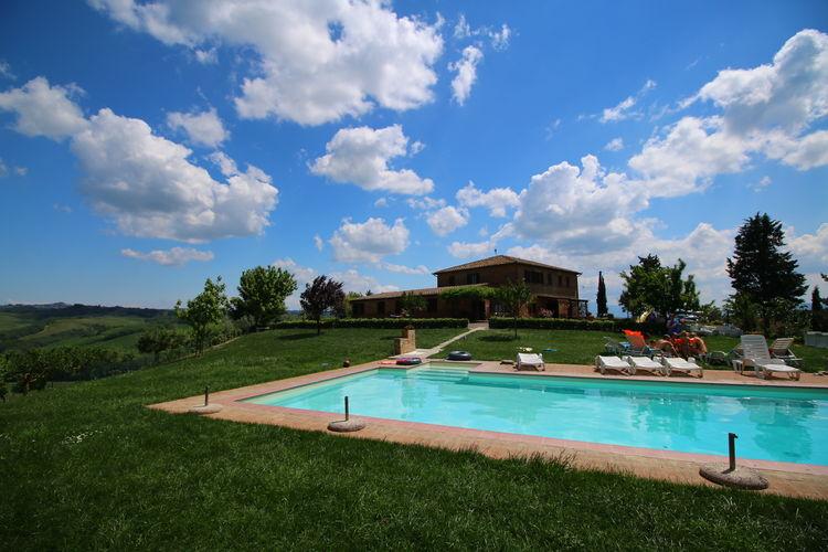 Boerderij Italië, Toscana, Buonconvento Boerderij IT-53022-10