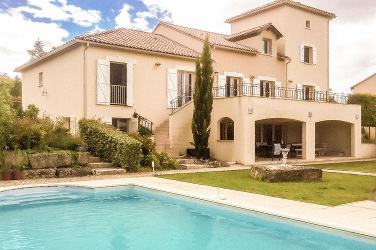 Villa met zwembad met wifi  DordogneLa Haute Prèze 47 près de la Dordogne 8P