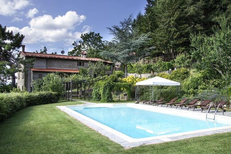 Vakantiehuizen Italie | Toscana | Villa te huur in Cortona met zwembad  met wifi 12 personen