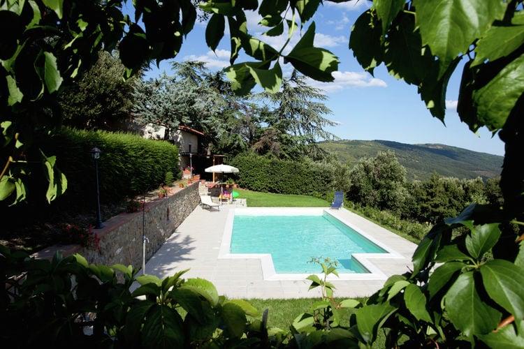 Vakantiehuis met zwembad met wifi  CortonaVillino