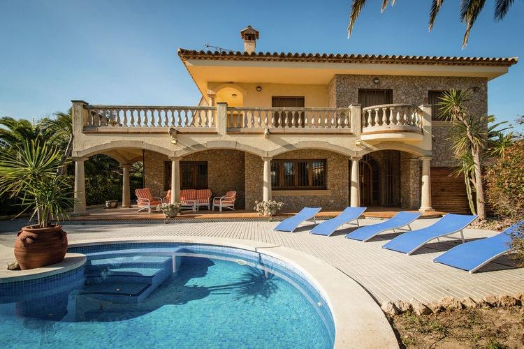 Vakantiehuizen Spanje | Costa-Brava | Vakantiehuis te huur in Sant-Pere-Pescador met zwembad  met wifi 9 personen