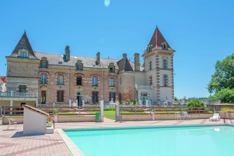 Kasteel Frankrijk, Midi-Pyrenees, Espalais Kasteel FR-82400-14