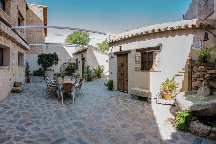 Vakantiewoning met zwembad met wifi  Gálvez  Karakteristiek huis met zwembad in de buurt van Toledo