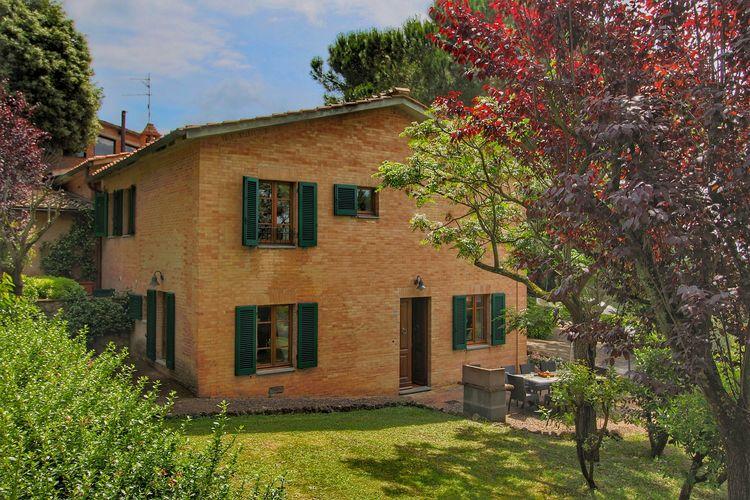 Vakantiewoning met zwembad met wifi  Siena  Vakantiehuis op 5 km van Siena in de heuvels, zwembad en tuin
