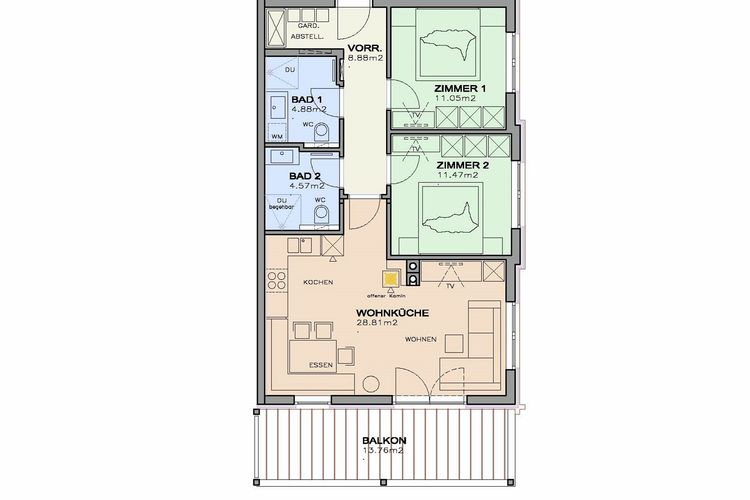 Ref: AT-5731-21 2 Bedrooms Price