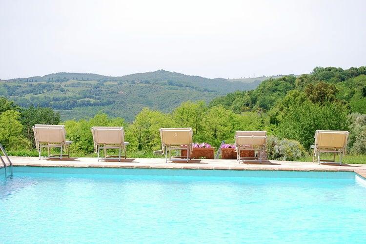 Vakantiehuizen Italie   Toscana   Vakantiehuis te huur in San-Gimignano-siena met zwembad  met wifi 4 personen