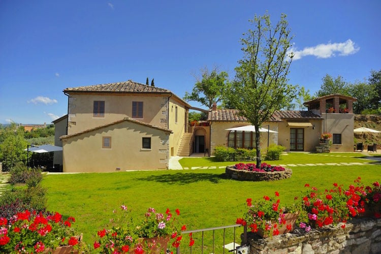 Vakantiehuizen Italie | Toscana | Vakantiehuis te huur in Rapolano-Terme met zwembad  met wifi 6 personen