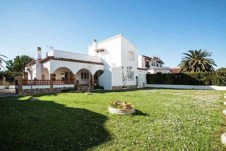 Vakantiehuizen Spanje | Costa-Brava | Vakantiehuis te huur in Sant-Pere-Pescador   met wifi 8 personen
