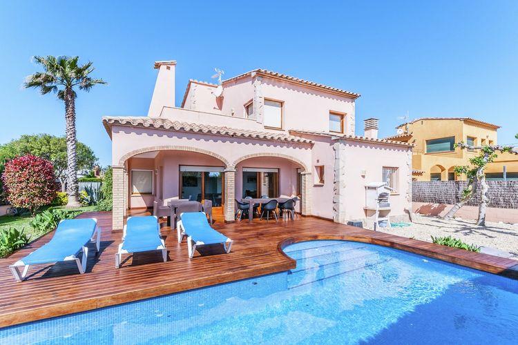 Vakantiehuizen Spanje | Costa-Brava | Villa te huur in Sant-Pere-Pescador met zwembad  met wifi 9 personen