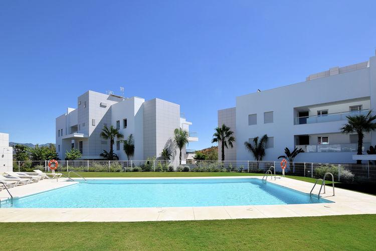 Vakantiehuizen Spanje | Costa-del-Sol | Appartement te huur in La-Cala-de-Mijas met zwembad  met wifi 4 personen