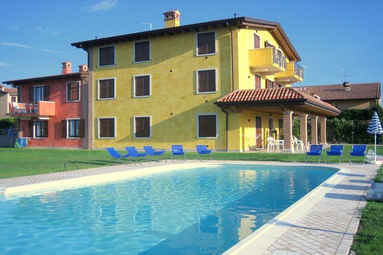 Vakantiehuizen Italie   Italiaanse-Meren   Vakantiehuis te huur in Lazise met zwembad  met wifi 6 personen