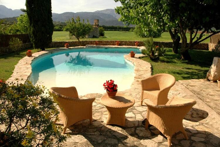 Vakantiehuizen Spanje | Mallorca | Vakantiehuis te huur in Buger met zwembad  met wifi 10 personen