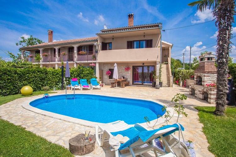 Vakantiehuizen Kroatie | Istrie | Vakantiehuis te huur in Cervari met zwembad  met wifi 7 personen