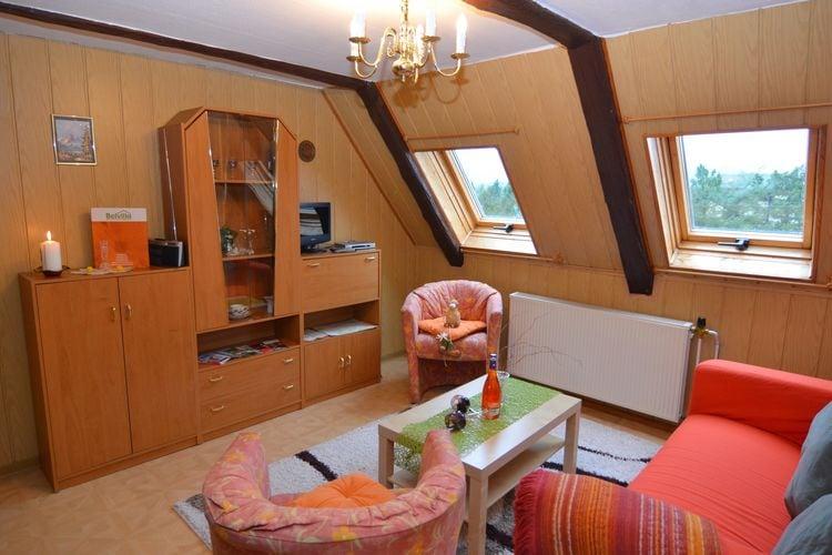 Vakantiehuizen Duitsland | Saksen | Appartement te huur in Lichtenhain   met wifi 8 personen