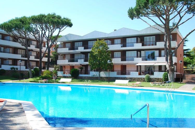 Appartement met zwembad met wifi  Calella-de-PalafrugellRotonda 2