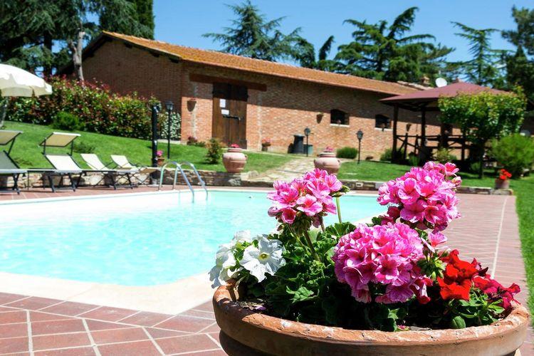 Vakantiehuis met zwembad met wifi  CortonaVilla Camilla
