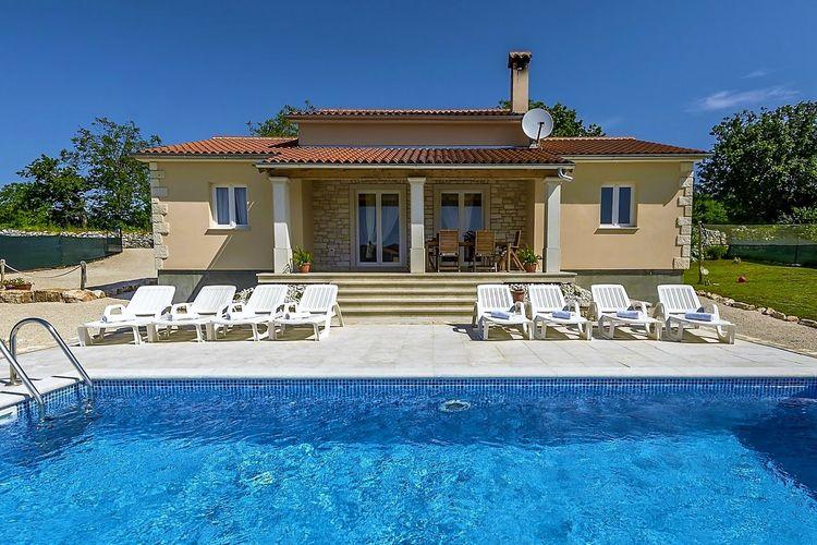 Kroatie | Istrie | Villa te huur in Tinjan met zwembad  met wifi 8 personen
