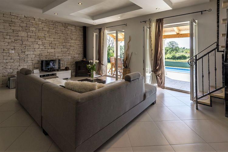 Villa Kroatië, Istrie, Tinjan Villa HR-52444-37