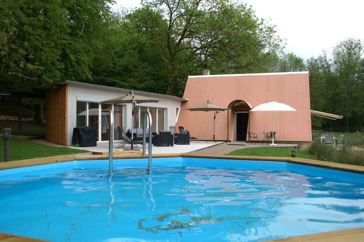 Vakantiehuizen Frankrijk | Vogezen | Vakantiehuis te huur in Delain met zwembad  met wifi 5 personen
