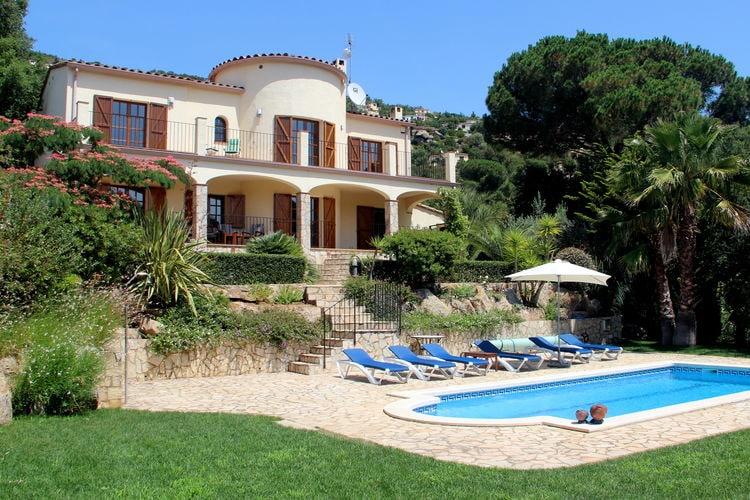 Vakantiehuizen Spanje | Costa-Brava | Vakantiehuis te huur in Calonge met zwembad  met wifi 8 personen
