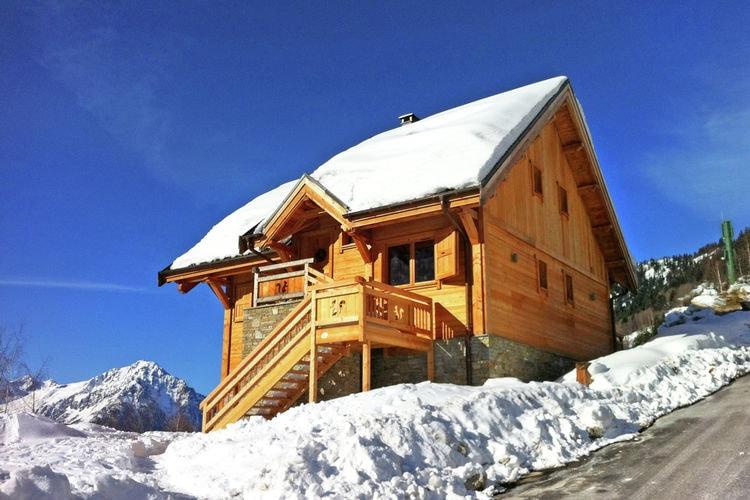 Rhone-alpes Chalets te huur Luxueus chalet met jacuzzi, stoombad en gratis Wi-fi op 250 m van de gondel