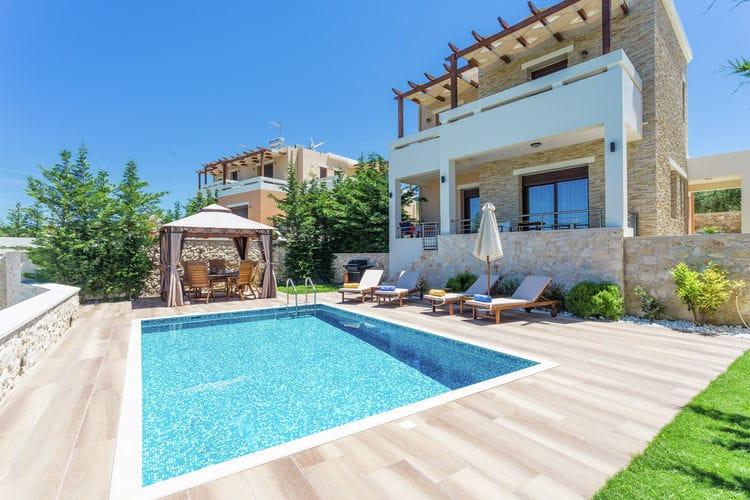 Griekenland | Kreta | Villa te huur in Roupes met zwembad  met wifi 7 personen