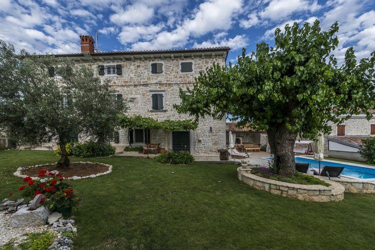 Villa Kroatië, Istrie, Dračevac Villa HR-52440-133