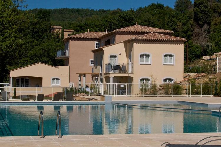 Appartement met zwembad met wifi  Provence-Alpes Cote d AzurDomaine de Camiole Callian 1