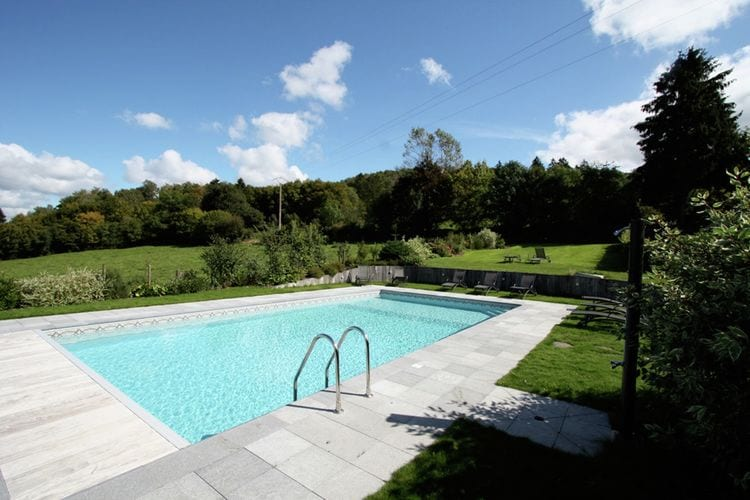 Vakantiehuizen Belgie | Luxemburg | Vakantiehuis te huur in Saint-Hubert met zwembad  met wifi 8 personen