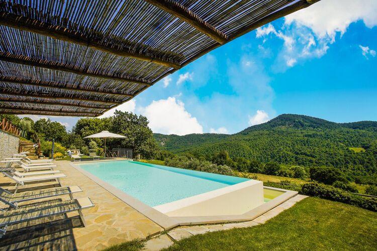 Vakantiehuizen Italie | Toscana | Vakantiehuis te huur in Anghiari met zwembad  met wifi 15 personen