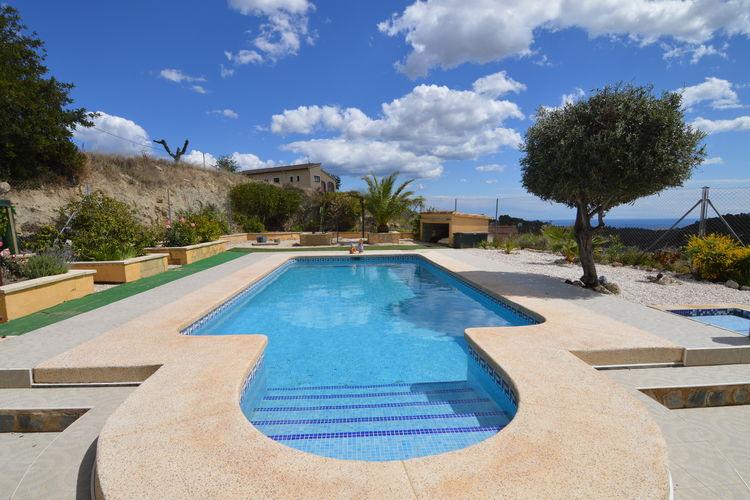 vakantiehuis Spanje, Costa Blanca, Finestrat vakantiehuis ES-00776-01