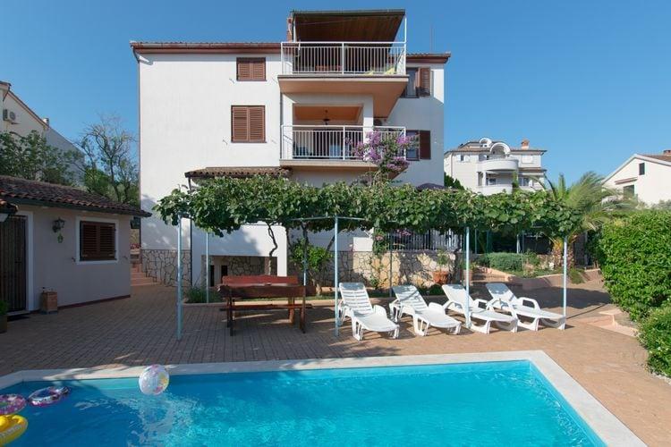Kroatie | Istrie | Appartement te huur in Vinkuran met zwembad  met wifi 6 personen