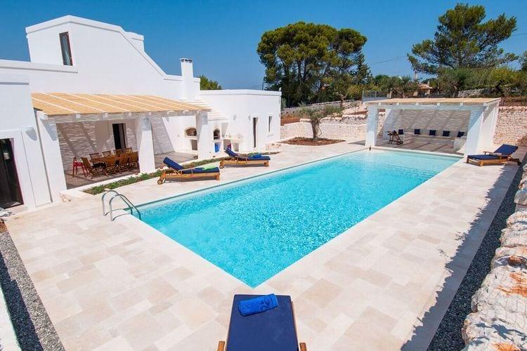 Vakantiehuis met zwembad met wifi  Monopoli  Villa Milivita