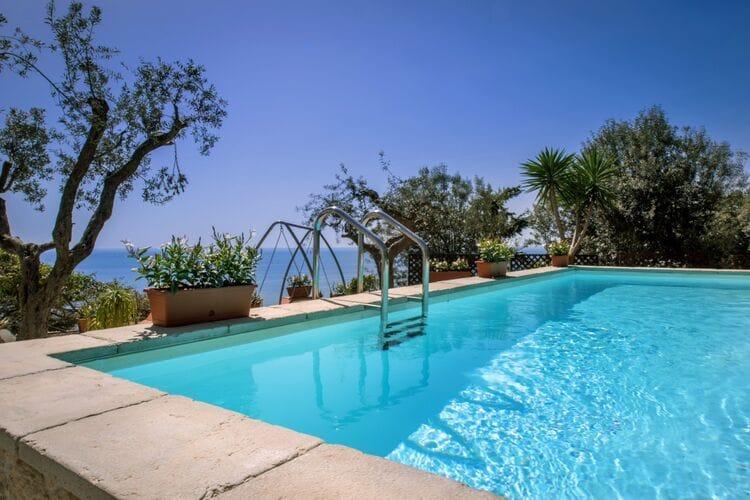 Italie | Campania | Villa te huur in Massa-Lubrense met zwembad  met wifi 8 personen