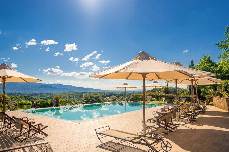 Vakantiehuizen Italie | Toscana | Vakantiehuis te huur in Figline-Valdarno met zwembad  met wifi 6 personen