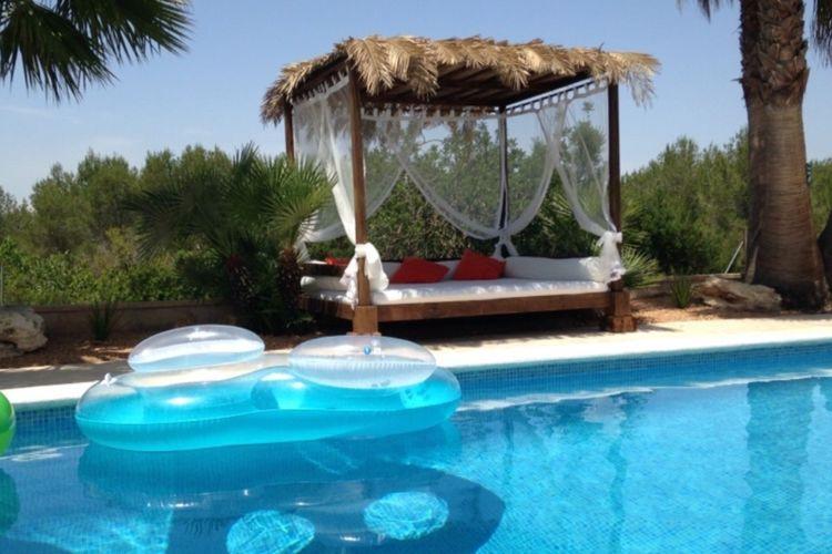 Vakantiehuis met zwembad met wifi  San Rafael  Can Daifa