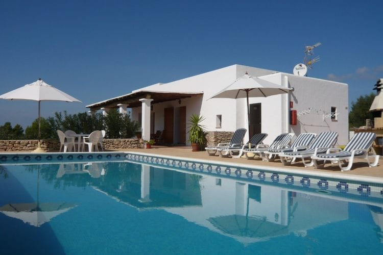 Vakantiehuis met zwembad met wifi  San Rafael  Can Toni