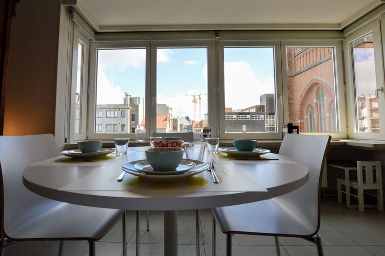 Appartement huren in Oostende -   met wifi  voor 4 personen  In het gezellige Oostende, de stad..