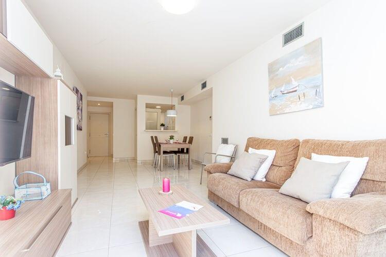 Vakantiehuizen Spanje | Costa-Brava | Appartement te huur in Rosas   met wifi 4 personen