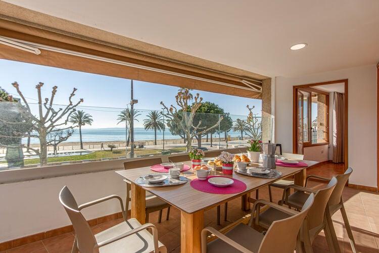 Vakantiehuizen Spanje   Costa-Brava   Appartement te huur in Roses   met wifi 7 personen