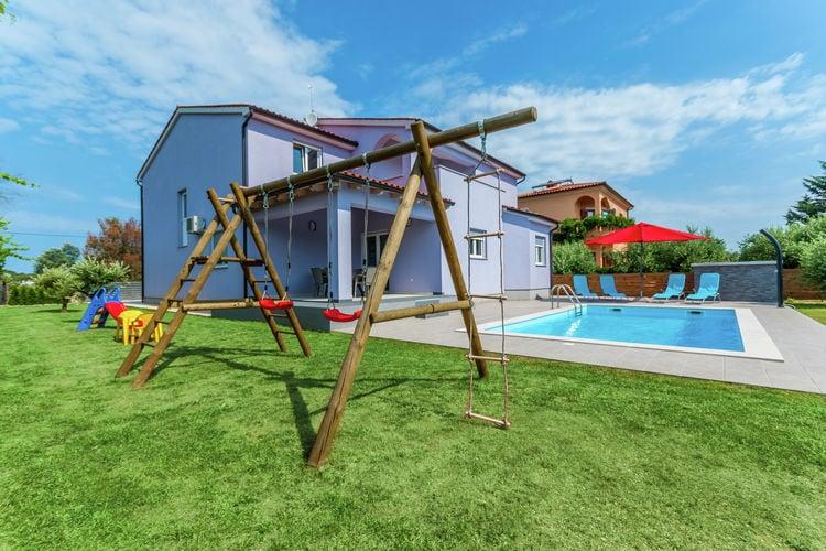 Kroatie | Istrie | Villa te huur in Pula met zwembad  met wifi 9 personen