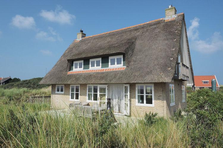 Villa  met wifi aan zee Midsland Terschelling  Duindroom op Terschelling