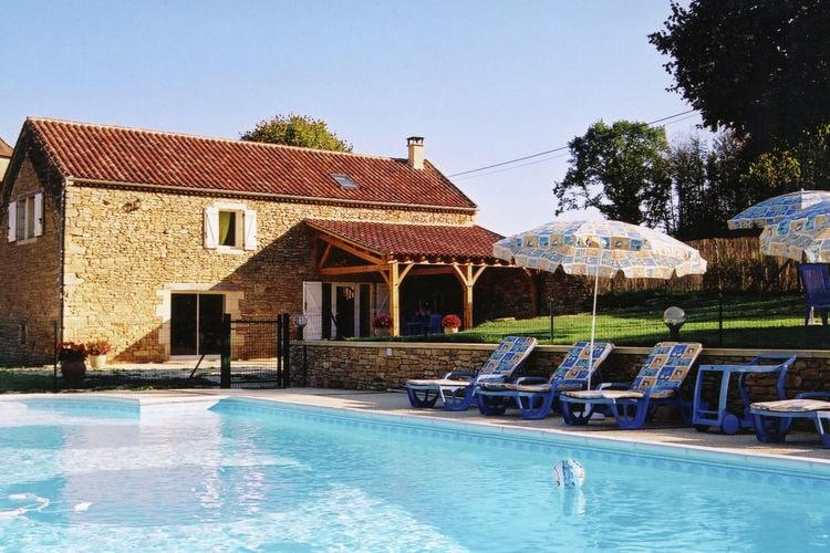 Vakantiehuis met zwembad met wifi  BesseMaison de vacances Besse les Vitarelles 4 pers