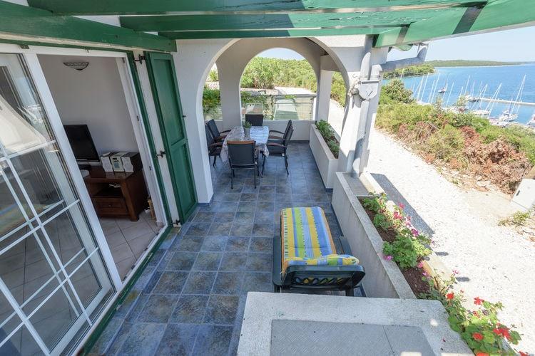 vakantiehuis Kroatië, Dalmatie, Veli rat vakantiehuis HR-23281-01