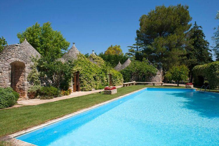 Vakantiewoning huren in Puglia - met zwembad  met wifi met zwembad voor 10 personen  Prachtig complex samengesteld door..