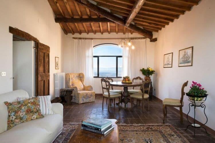 Vakantiehuizen Italie | Toscana | Vakantiehuis te huur in Pergine-Valdarno met zwembad  met wifi 5 personen