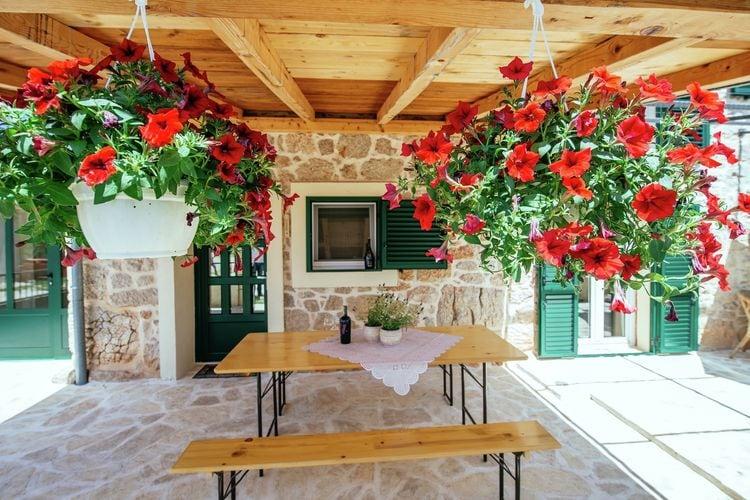 Vakantiehuis  met wifi  DalmatieCasa Gracia