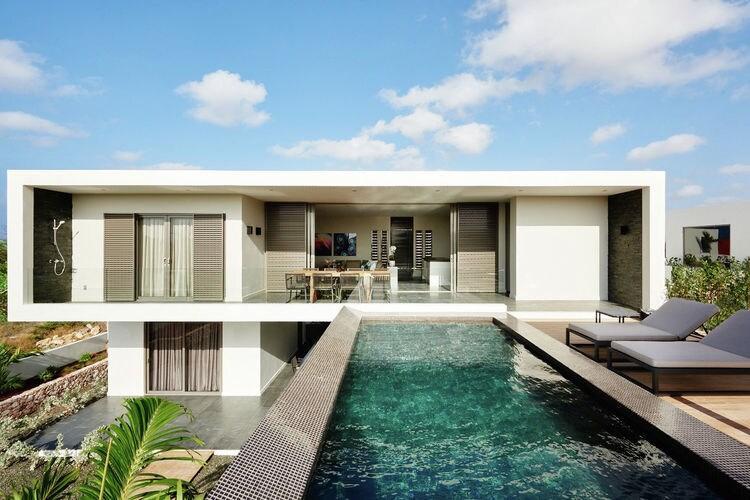 Luxe moderne villa voor 8 personen in stadsdeel Jan Thiel op Curacao