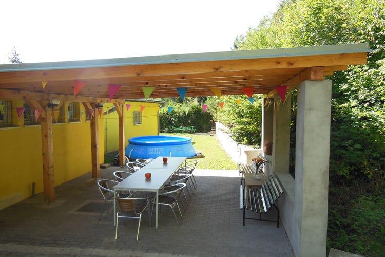 Vakantiehuizen Tsjechie | Zuid-en-midden-Moravi | Villa te huur in Nedvedice met zwembad  met wifi 10 personen